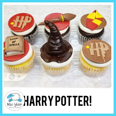 Harry Potter Birthday Cupcakes NJ