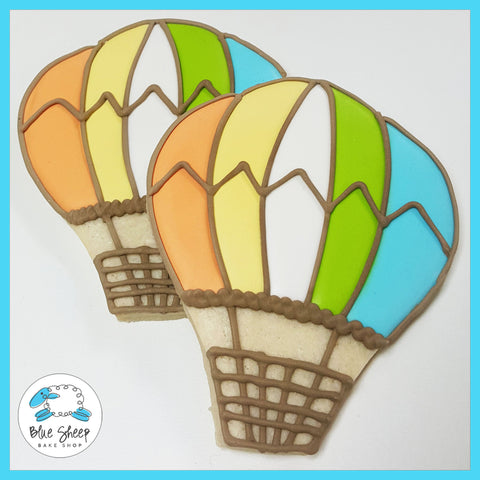 hot air balloon cookie favors nj