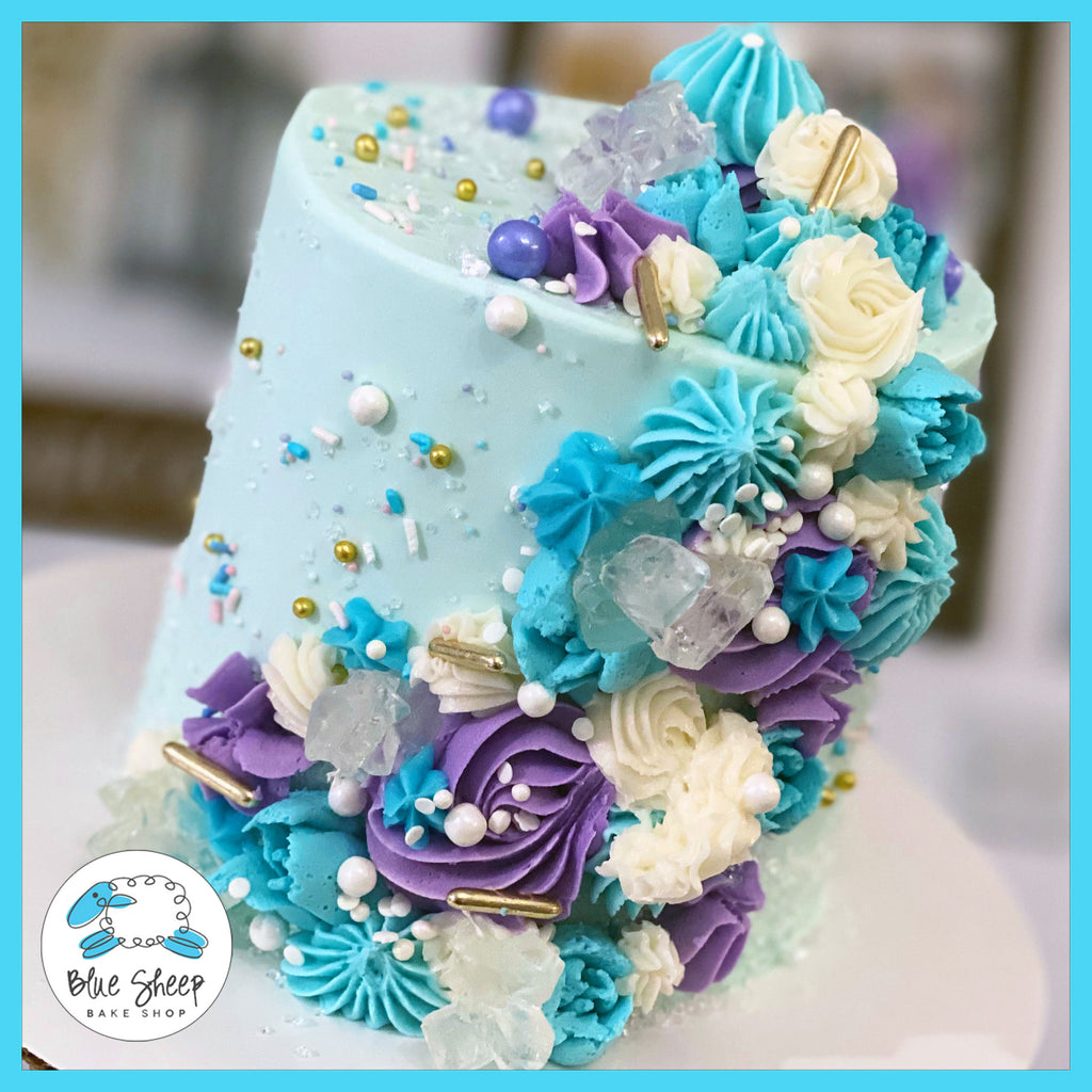 buttercream textures cake - best birthday cakes nj