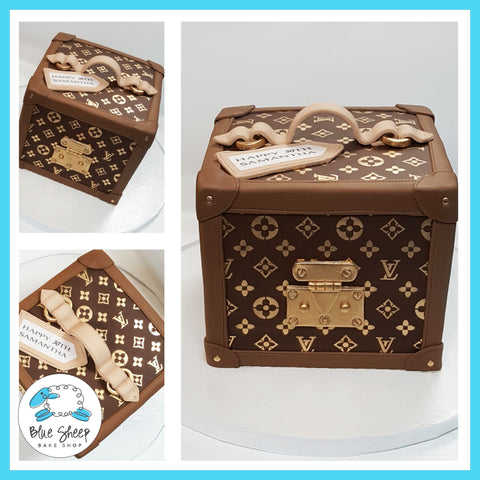 Louis Vuitton Birthday Cake NJ Custom Cakes by Blue Sheep