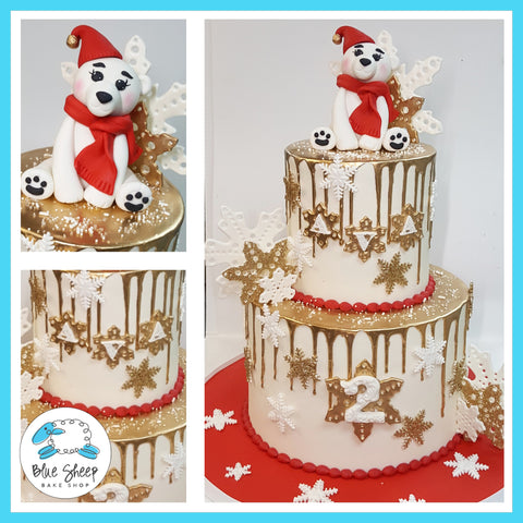 polar bear birthday cake nj