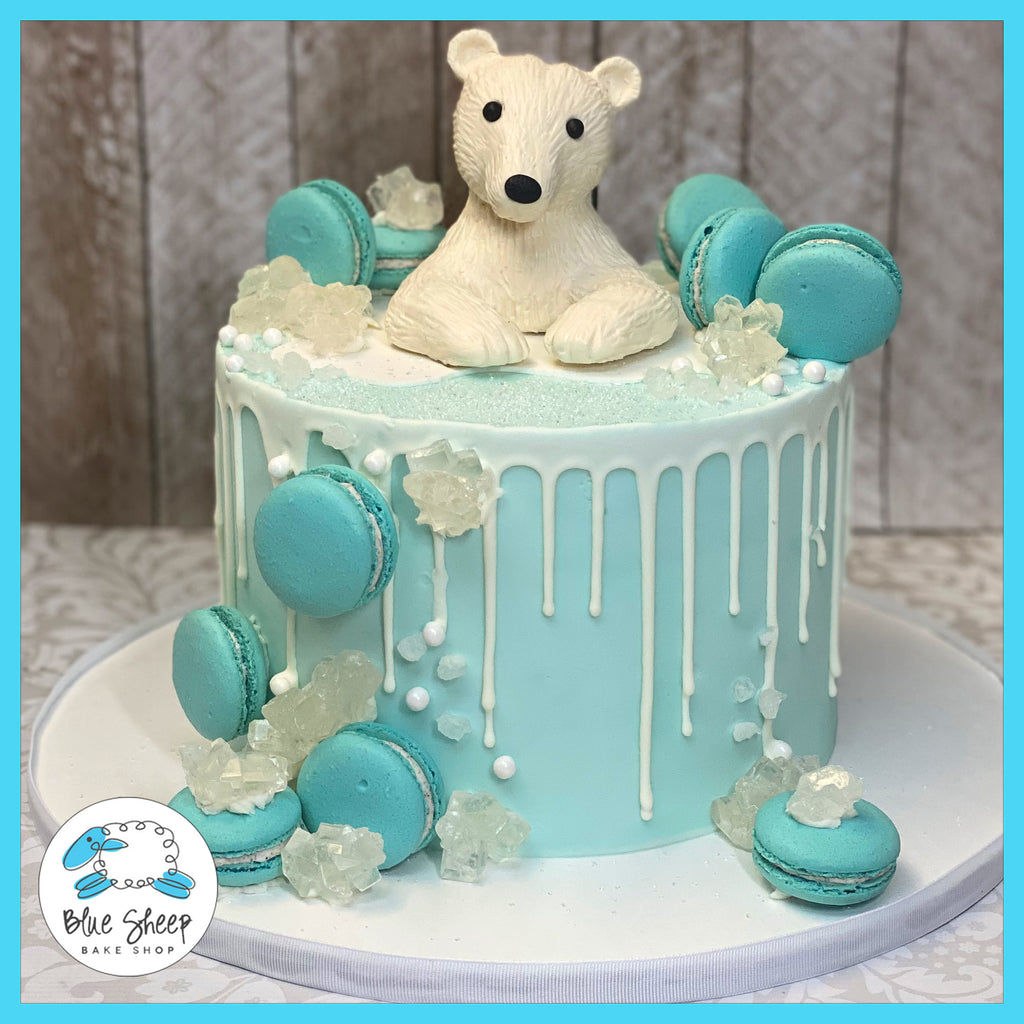 polar bear 1st birthday cake nj best cakes