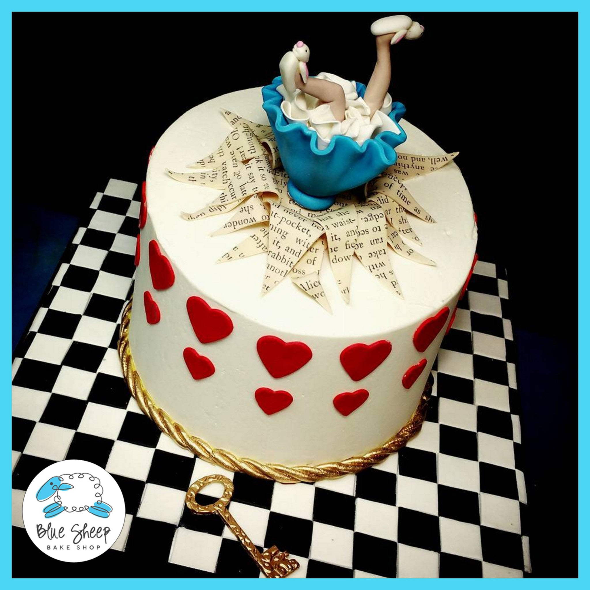 Alice In Wonderland Birthday Cake NJ