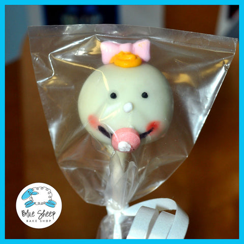 baby face cake pops baby shower nj