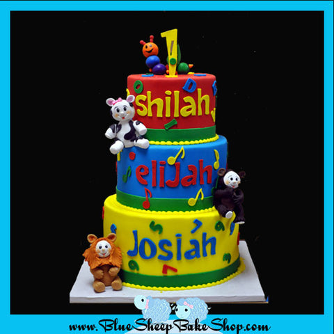 children's cakes nj, baby einstein cake, nj childrens cake,