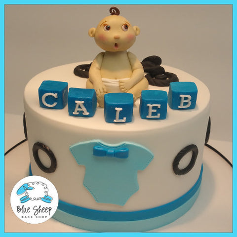 Caleb's Baby Shower Cake