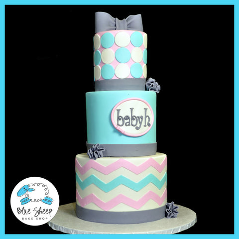 custom baby shower cake nj