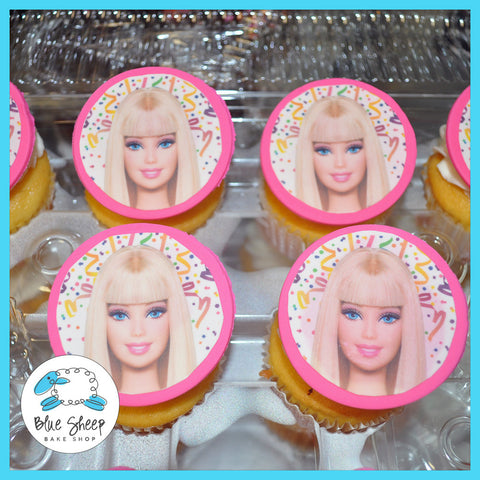 Barbie Birthday Cupcakes