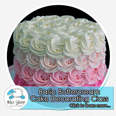 buttercream cake decorating class nj fondant