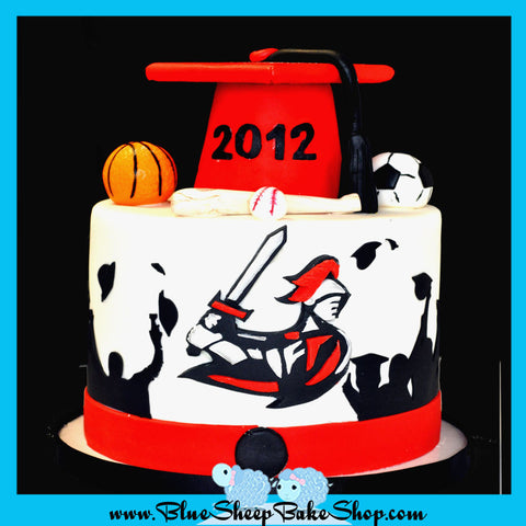 Bound Brook High School Graduation Cake