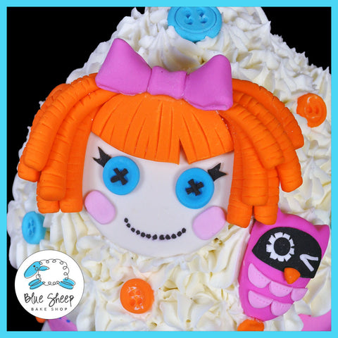 lala loopsy giant cupcake birthday cake