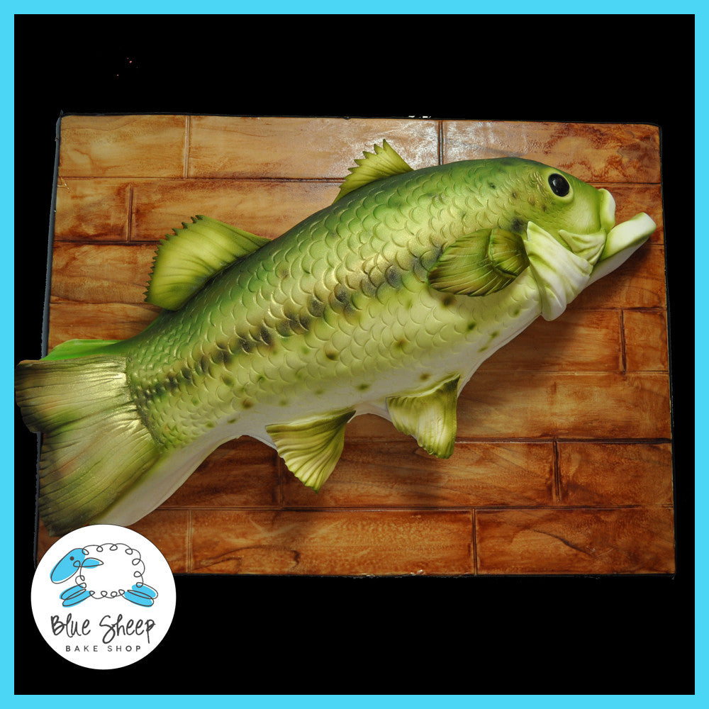 large mouth bass grooms cake