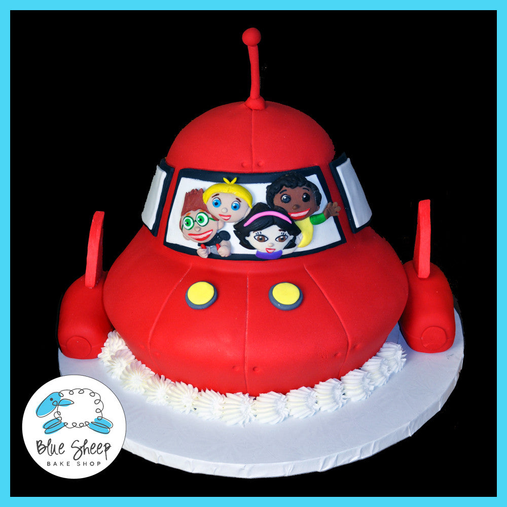 little einsteins 1st birthday cake space rocket