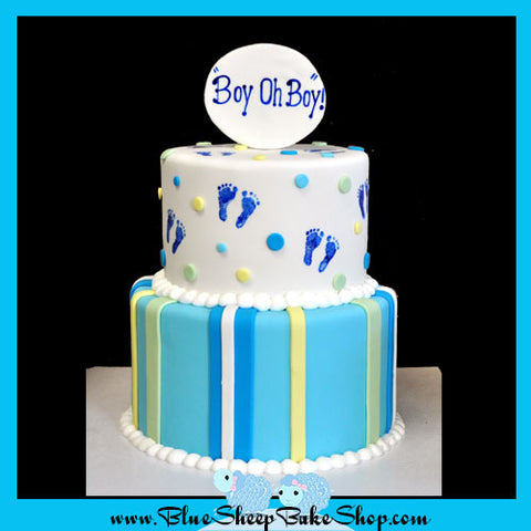 Boy oh Boy! Baby Shower Cake