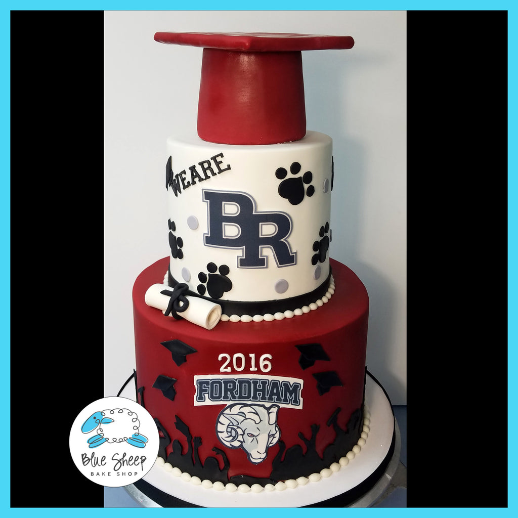 bridgewater high school graduation cake