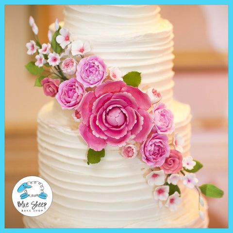 sugar flowers for wedding cake nj