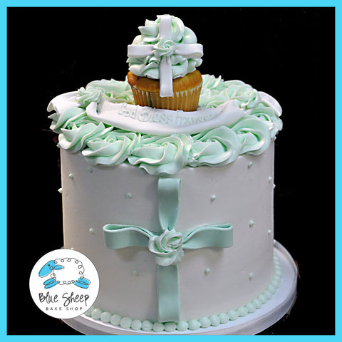 Buttercream 1st Communion Cake