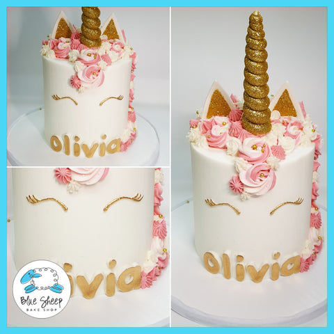 buttercream unicorn cake nj