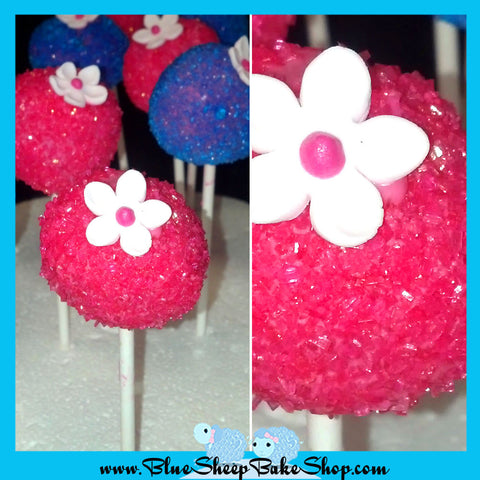 12 Sugar Crystal Cake Pop Favors