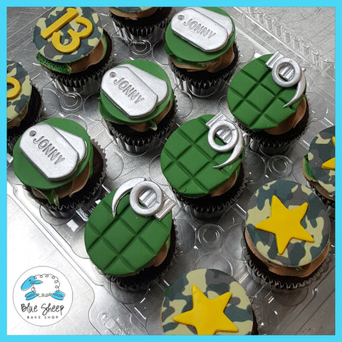 call of duty camo cupcakes grenade nj