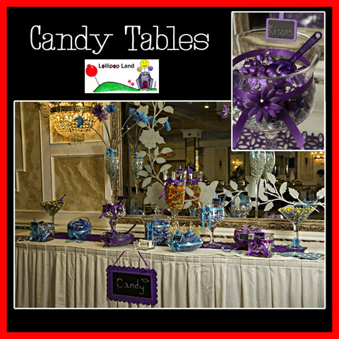 Candy Tables by Lollipopland
