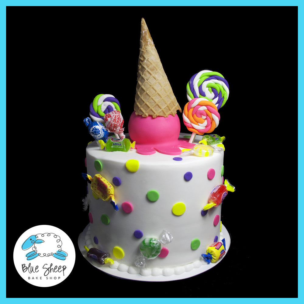 candy cake sweet 16