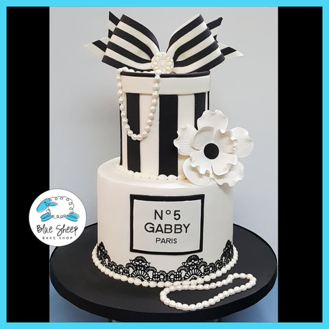 chanel no 5 birthday cake nj