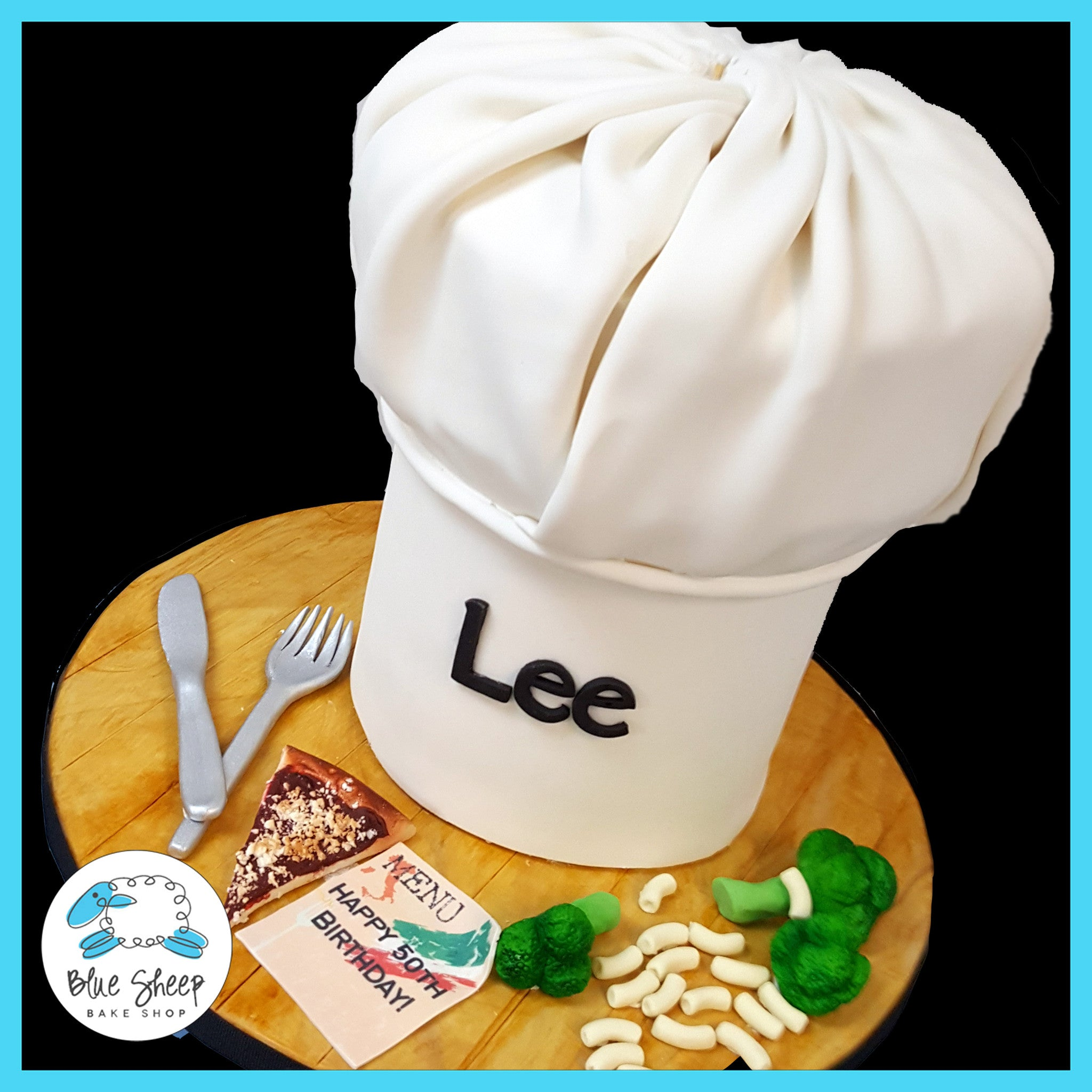 Chefs Hat Birthday Cake Nj Blue Sheep Bake Shop
