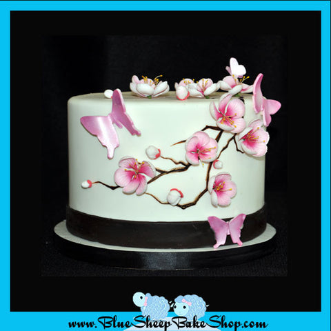 Custom Cherry Blossom Specialty Cake