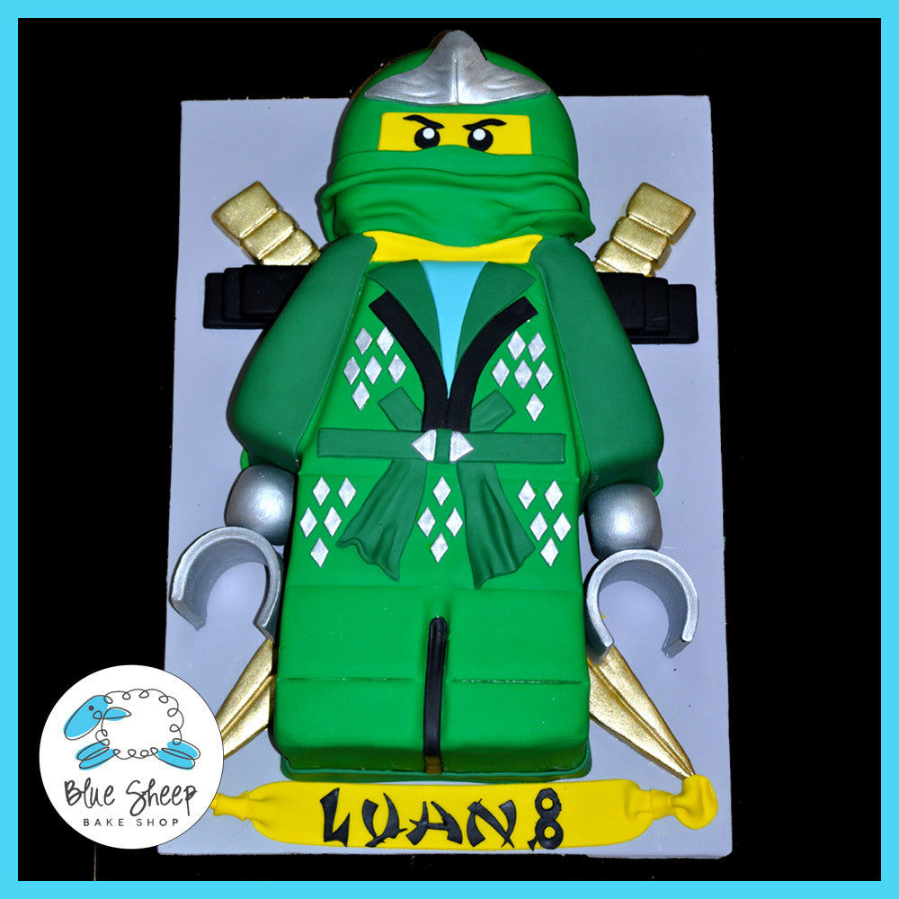 Cool Ninjago Birthday Cake Blue Sheep Bake Shop Funny Birthday Cards Online Inifofree Goldxyz