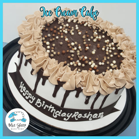 chocolate drip ice cream cake nj