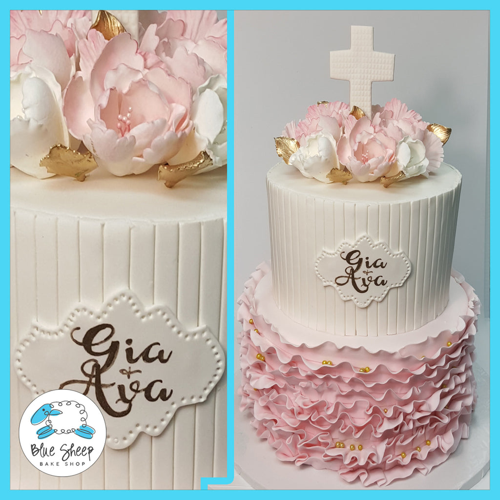 christening cake nj communion cake nj confirmation cake nj