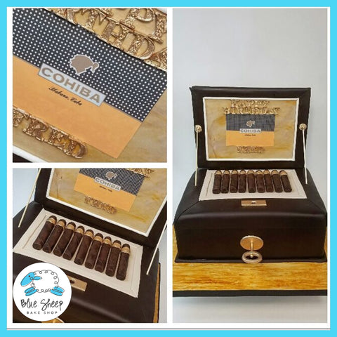 cohiba cigar grooms cake nj wedding cakes