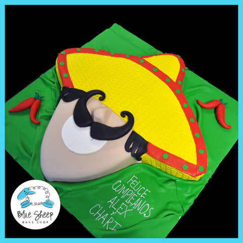 Cinco De Mayo Birthday Cake