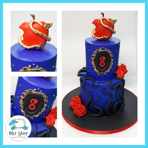 disney descendants buttercream birthday cake nj best cakes