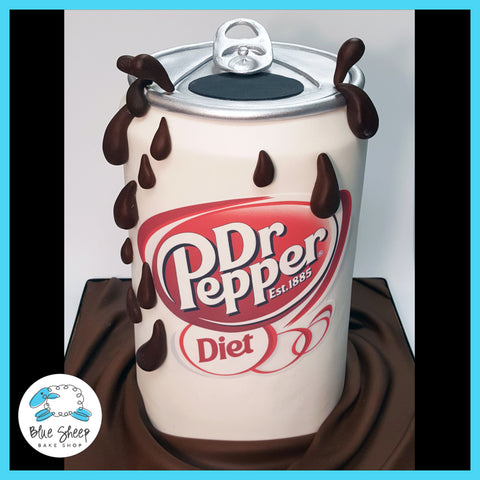 dr pepper soda can cake nj