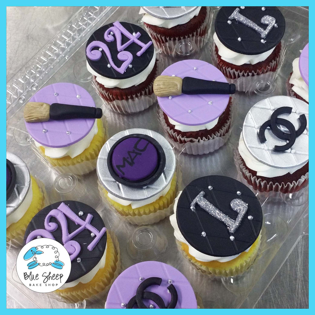 fashion make up cupcakes nj
