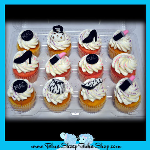 Fashion Themed Cupcakes