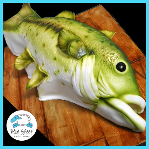 Large Mouth Bass Groom's Cake