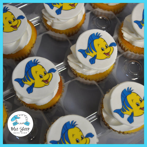 flounder from little mermaid cupcakes nj
