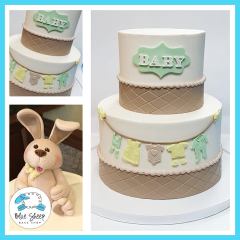 gender neutral baby shower cake nj