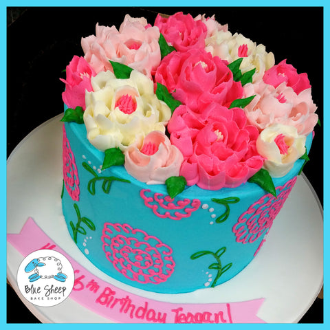 gorgeous buttercream birthday cakes nj