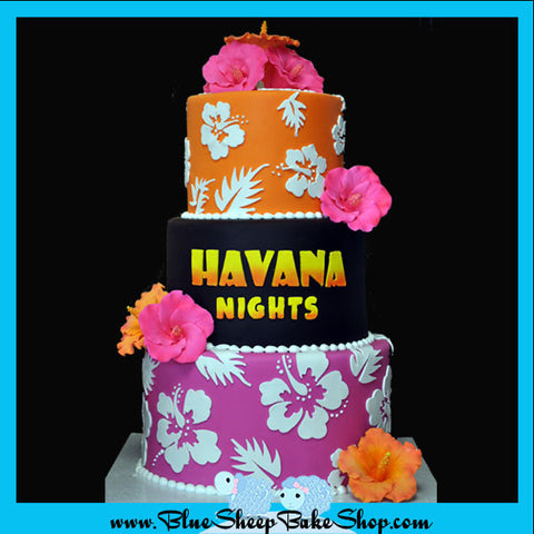 Tropical Custom Specialty Birthday Cake NJ