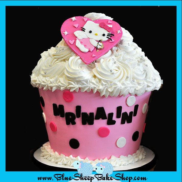 Hello Kitty Birthday Cake Custom Cakes NJ by Blue Sheep Bake Shop