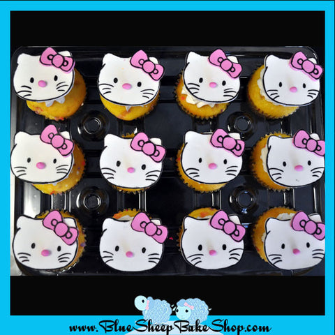 Custom Hello Kitty Specialty Cupcakes
