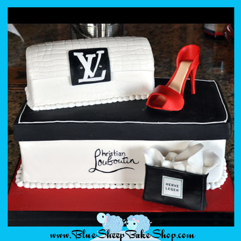 Fashion Inspired Birthday Cake