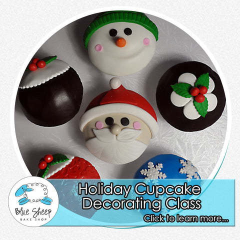 Holiday Cupcake Decorating Class