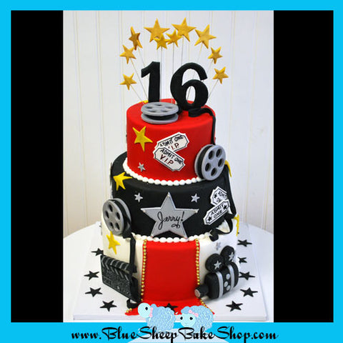 Hollywood Sweet 16 Cake