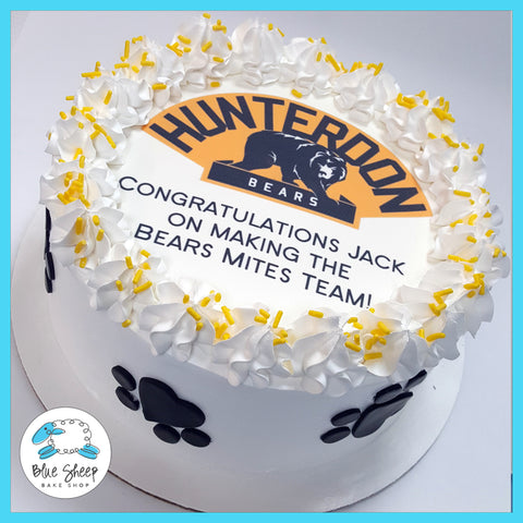 hunterdon bears ice cream cake nj