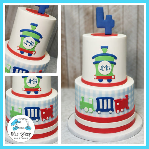 jacks custom fondant train cake custom cakes nj